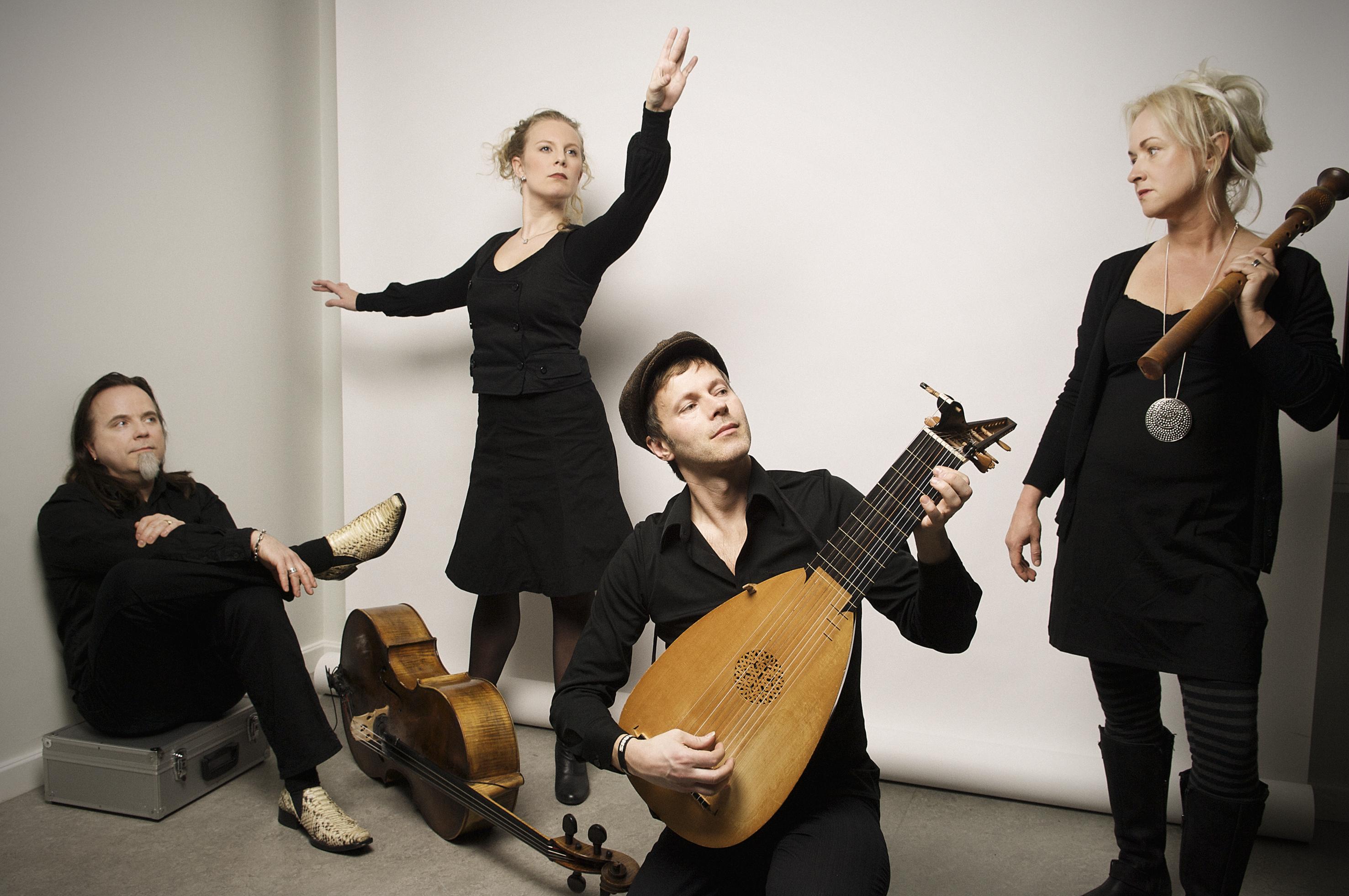 Hysteriskt Gammal Musik med Ensemble Flatterie